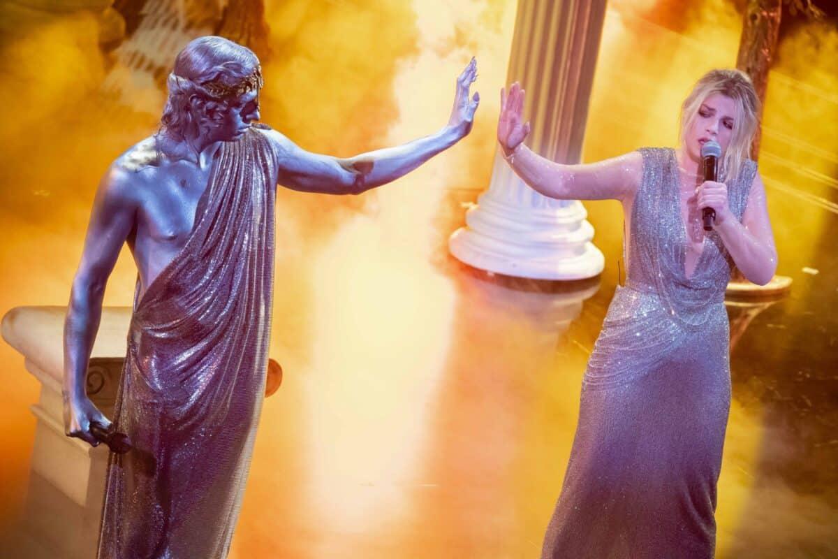 Sanremo 2021, la terza serata Achille Lauro e Emma Marrone