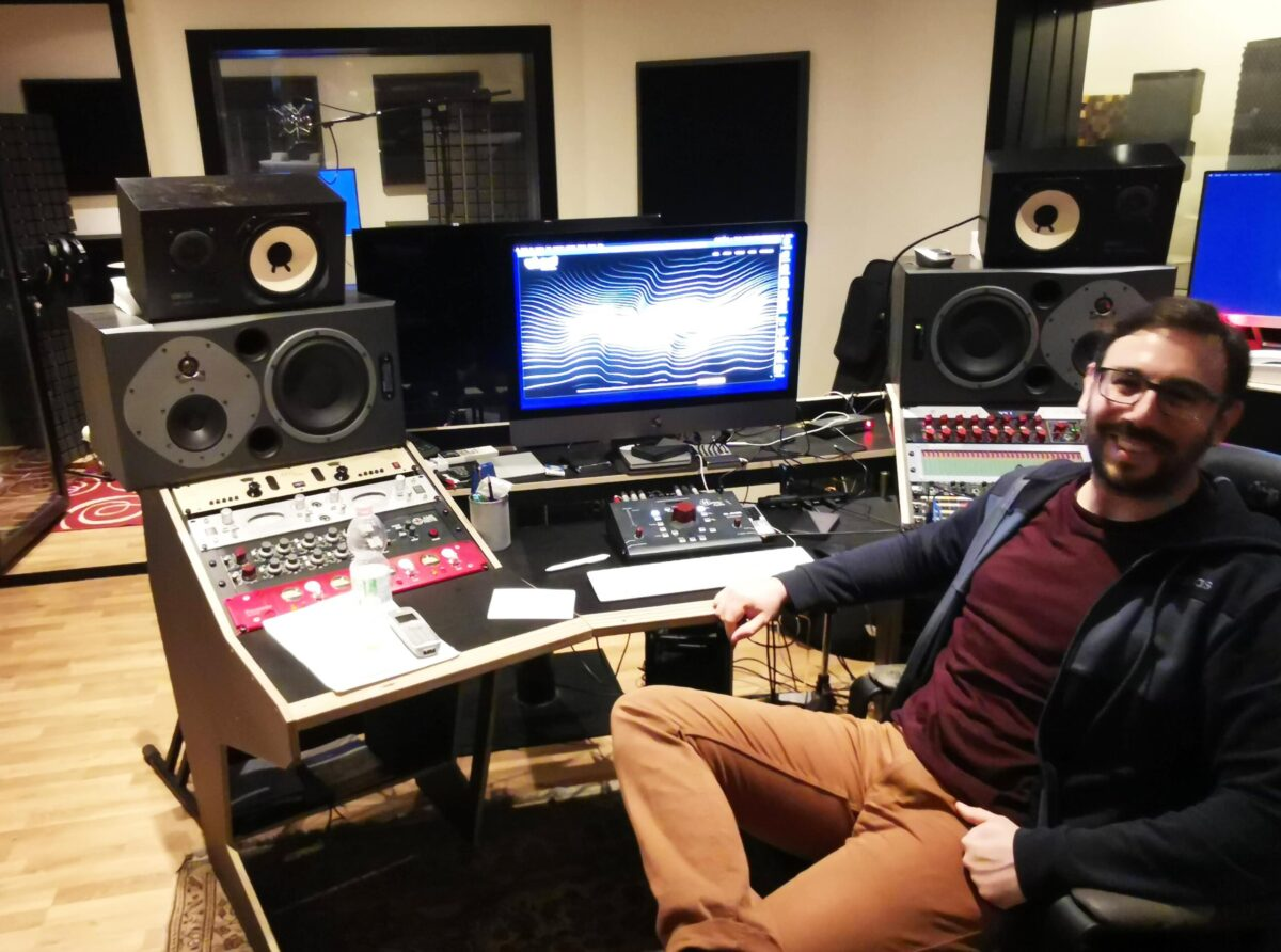 Giacomo Cacciatori founder di Luminol Records