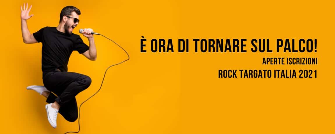 Rock Targato Italia aperte iscrizioni