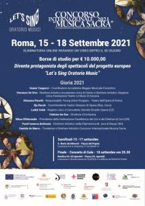 Non solo talent: Concorso Internazionale Musica Sacra 1