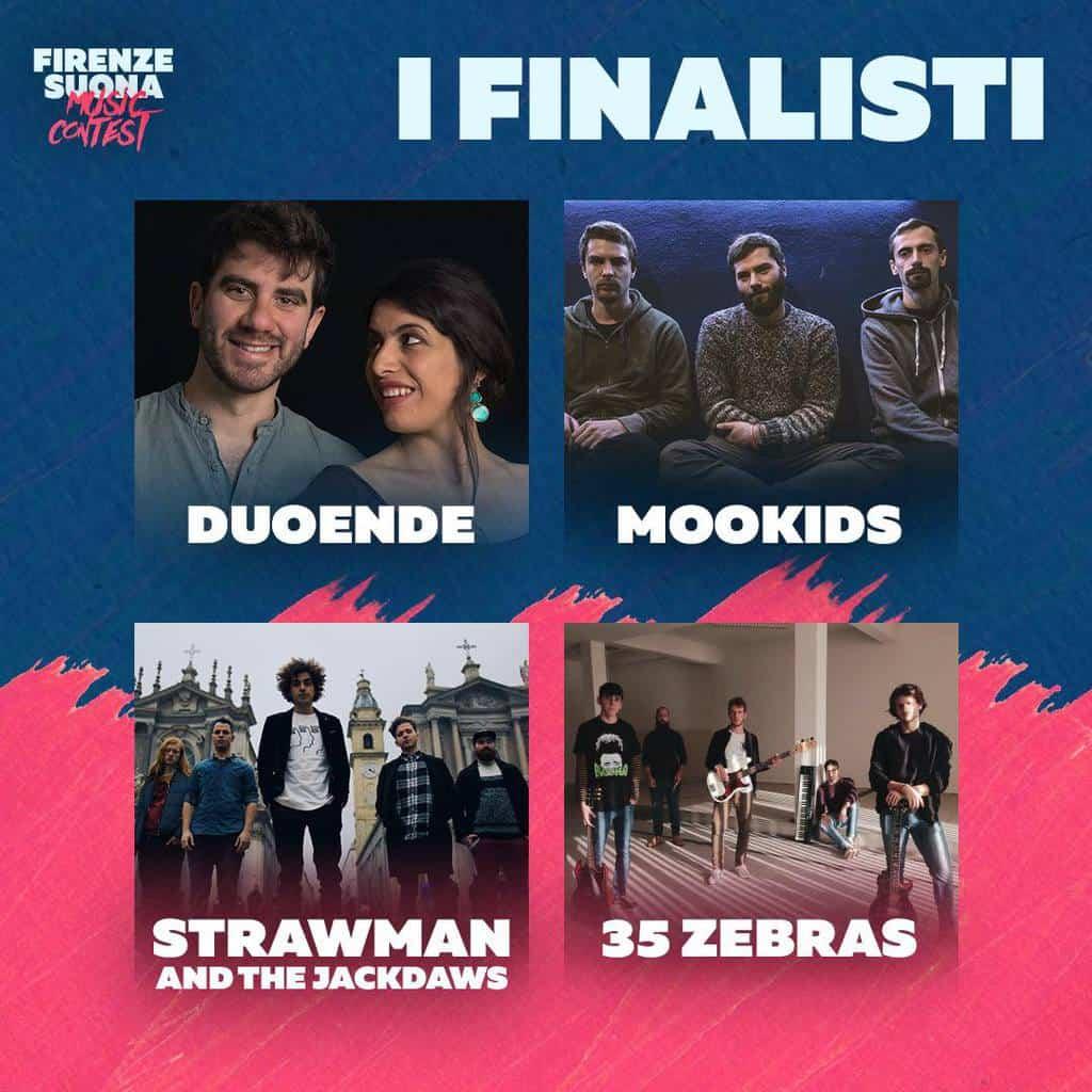 Non solo talent: Firenze Suona Music Contest Finalisti