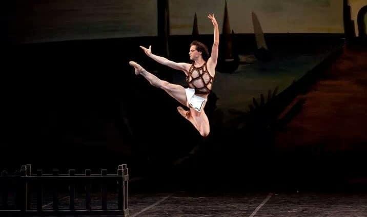 Federico Fresi ne Il figliol prodigo- Teatro alla Scala- cor. George Balanchine (Foto © Amisano_Brescia)