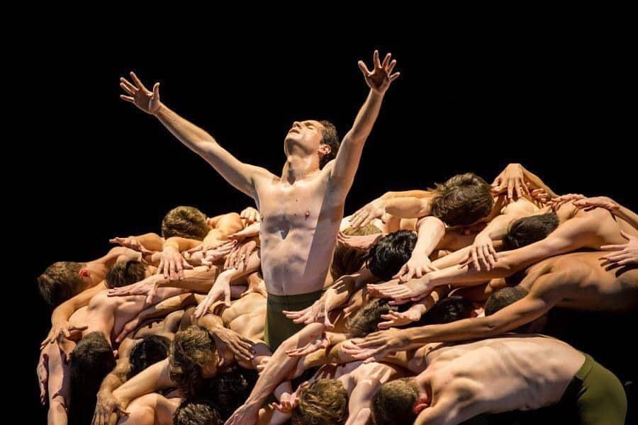 Federico Fresi al Boston Opera House in John Neumeier's Third Symphony of Gustav Mahler