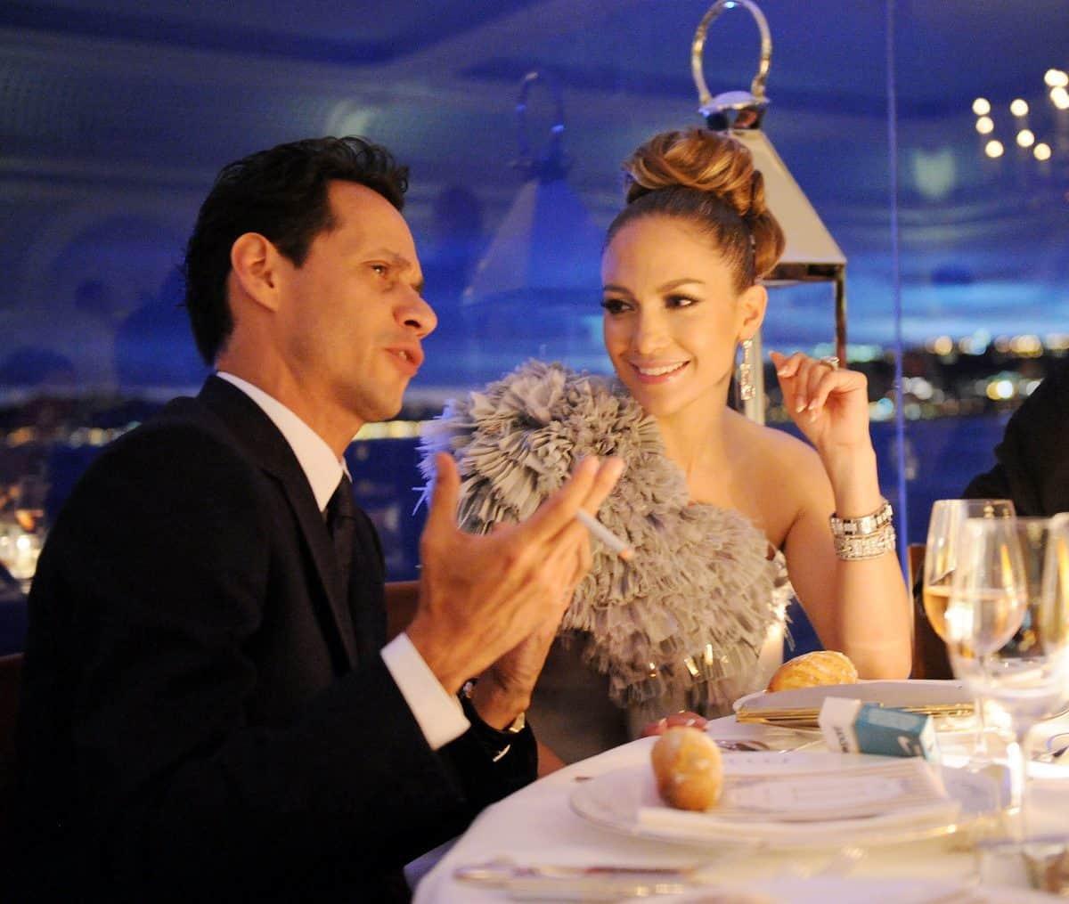 Jennifer Lopez e marito
